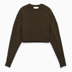 ☯️ Wilfred Lolan Crop Sweater Wilfred Sweater